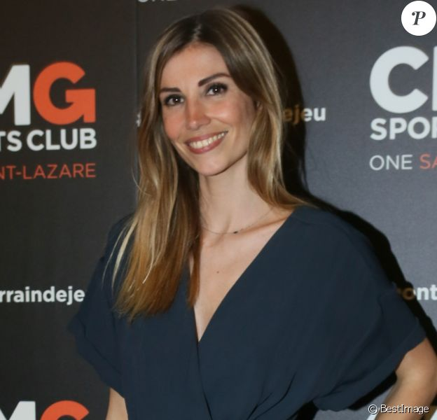 Alexandra Rosenfeld (Miss France 2006) - Inauguration du CMG Sports Club ONE Saint-Lazare au 11-13 rue Boursault à Paris, le 28 avril 2016. © CVS/Bestimage