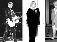 Johnny Hallyday, Jeanne Moreau, Jean Rochefort... Ils nous ont quittés en 2017