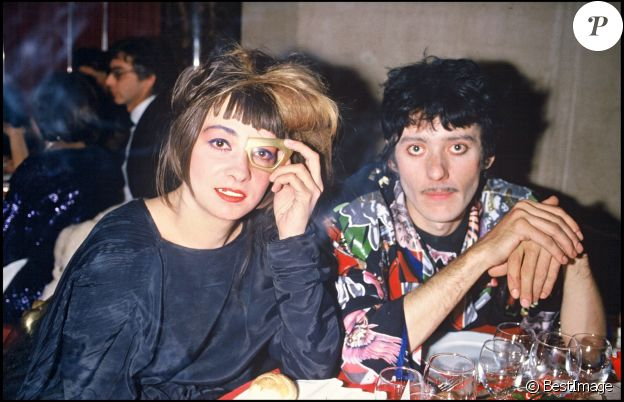 Catherine Ringer et Fred Chichin à Paris, le 24 octobre 1985.