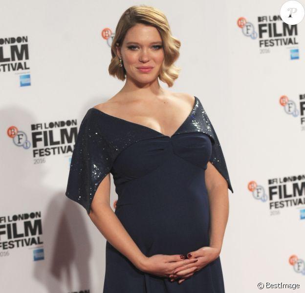 En janvier 2017, Léa Seydoux a donné naissance à son premier enfant, un petit George né de ses amours avec André Meyer. (Ici lors du festival du film BFI de Londres le 14 octobre 2016).