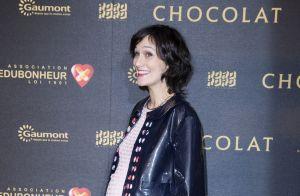 Clotilde Hesme enceinte en tournage :