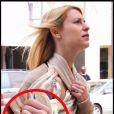 Claire Danes heureuse avec sa bague de fiançailles mercredi 4 mars à Beverly Hills