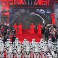 Illustration à la première de Star Wars, épisode VIII : Les Derniers Jedi au Royal Albert Hall à Londres, le 12 décembre 2017