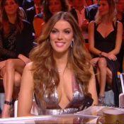 Iris Mittenaere en sublime décolleté ultraplongeant pour Miss France 2018