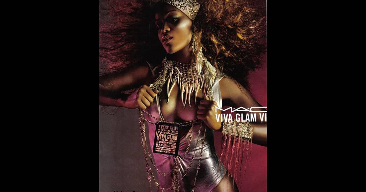 Eve ex égérie Viva Glam pour Mac...