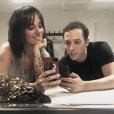 Alizée et Grégoire Lyonnet partagent des photos de leur séjour en Suisse. Le 18 décembre 2017.