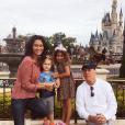 Emma Heming et Bruce Willis avec leurs filles Mabel Ray et Evelyn Penn.