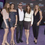 Sylvester Stallone : Son Noël, entouré de ses 3 bombes de filles et de Schwarzy