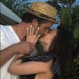 """Alexa Ray Joel et son fiancé Ryan Gleason. Janvier 2018."""