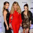 """""""Christie Brinkley avec ses filles Sailor Brinkley Cook et Alexa Ray Joel à la soirée Sports Illustrated Swimsuit 2017 à New York, le 16 février 2017."""""""