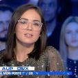 """""""Agathe Auproux dans """"Salut les Terriens"""" le 6 juin 2018."""""""