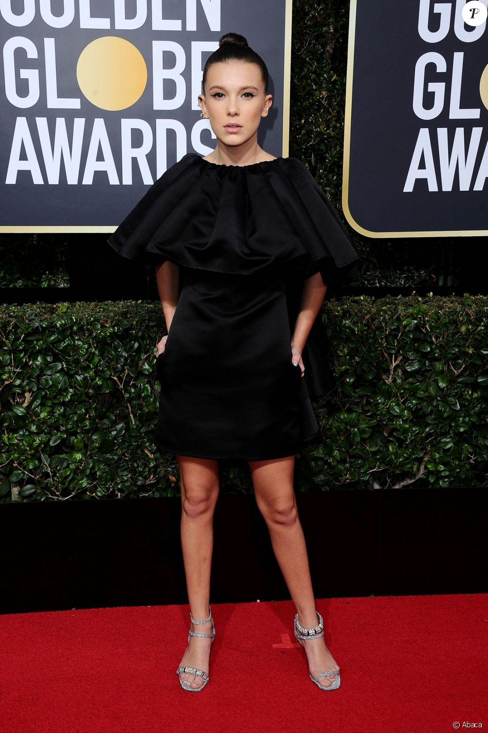 Golden Globes 2018  Millie Bobby Brown, Kendall Jenner les plus beaux  looks