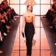 Défilé Giorgio Armani Privé, collection Haute Couture printemps-été 2017 à Paris. Le 24 janvier 2017.