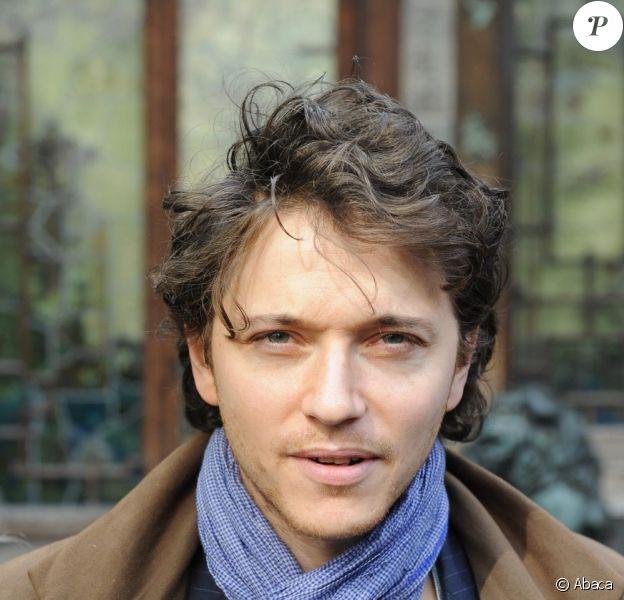 Raphaël au défilé Agnès B ce mardi matin à Paris