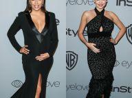 Eva Longoria et Miranda Kerr : Enceintes et sublimes après les Golden Globes