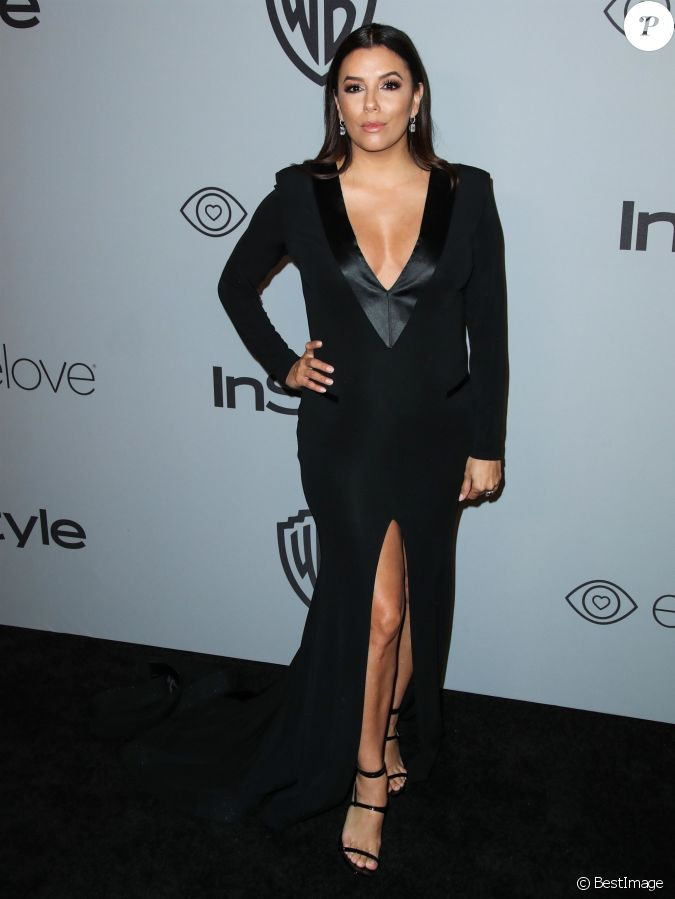 eva longoria enceinte after party des golden globes organis e par warner bros pictures et. Black Bedroom Furniture Sets. Home Design Ideas