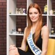 """""""Exclusif - Rendez-vous avec la Miss France 2018, Maëva Coucke dans les locaux de Webedia à Levallois-Perret le 9 Janvier 2018. © Tiziano Da Silva / Bestimage"""""""