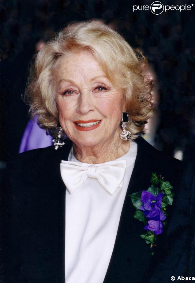 Danielle Darrieux en mars 2004