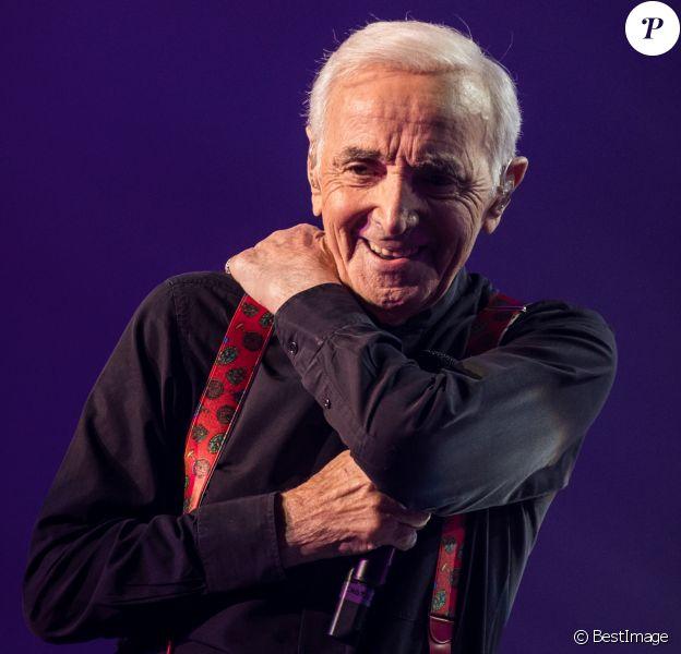 Exclusif - Concert de Charles Aznavour à l'Accorhotels Arena à Paris, le 13 décembre 2017 © Cyril Moreau / Bestimage