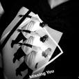 """""""Christina Milian porte un tee-shirt avec M. Pokora. Instagram, le 10 janvier 2018."""""""