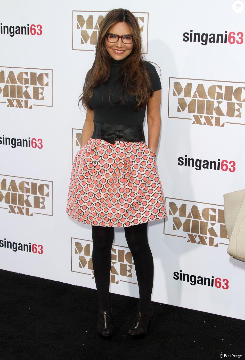 """Vanessa Marcil - Avant-première du film """"Magic Mike XXL"""" à Hollywood, le 25 juin 2015."""