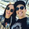 Alizée et Grégoire Lyonnet posent sur Instagram, le 16 mai 2017.