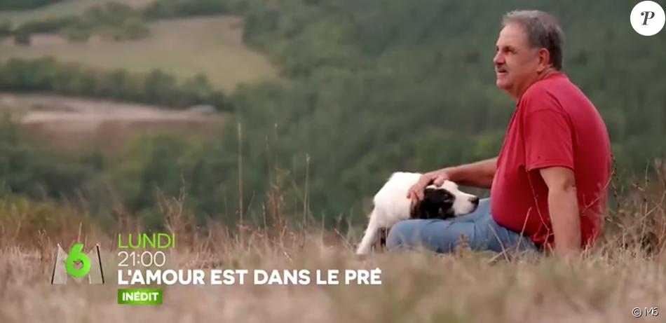 """Jean-Claude, éleveur de brebis dans """"L'amour est dans le pré"""" 2018 (M6)."""