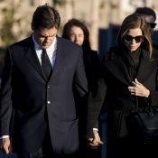"""Louis de Bourbon: En deuil aux obsèques de sa """"2e maman"""" Carmen, fille de Franco"""