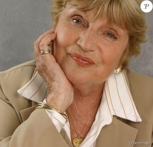 Archive - Portrait - Francoise Dorin en 2008