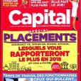 """Couverture du magazine """"Capital"""", numéro 316, janvier 2018."""