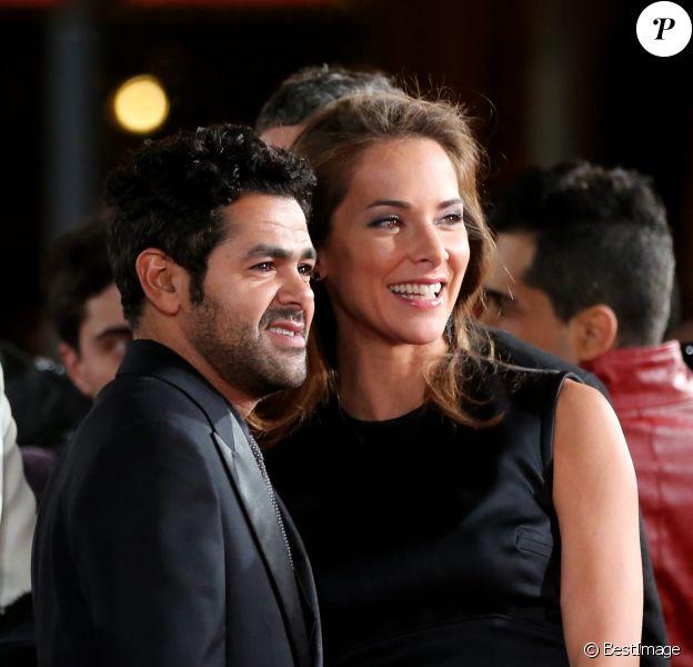 Jamel Debbouze et Melissa Theuriau - Troisieme jour du 13e Festival International du Film de Marrakech le 1er décembre 2013.