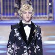 L'acteur et chanteur Ross Lynch - Défilé Dolce & Gabbana lors de la Fashion Week à Milan, Italie, le13 janvier 2018.