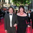 Cris Campion et Anny Duperey à Cannes, le 24 mai 2002.