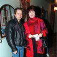 Cris Campion et Anny Duperey à Paris, en 1998.