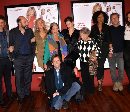 Kad Merad : Discret avec sa bien-aimée Julia Vignali au côté de Michèle Laroque