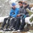 Jérémy et Candice de Koh-Lanta dans les Pyrénées, Instagram, janvier 2018