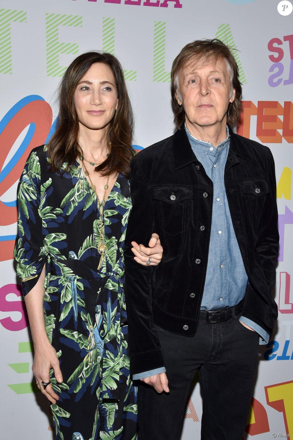 Nancy Shevell et Sir Paul McCartney - Soirée de