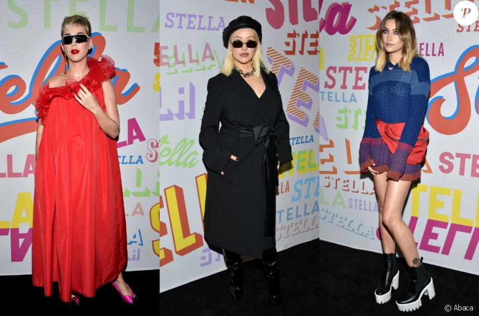 Katy Perry, Christina Aguilera, Paris Jackson - Soirée de présentation de la collection prêt-à-porter hommes automne/hiver 2018 et de la collection automne 2018 pour femmes, le 16 janvier 2018 à Los Angeles.
