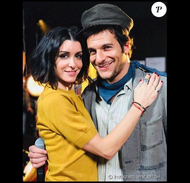 Amir et Jenifer - Coulisses du show des Enfoirés 2018, janvier 2018