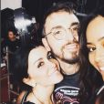 Jenifer, Christophe Willem, Amel Bent - Coulisses des Enfoirés 2017, janvier 2018, Instagram
