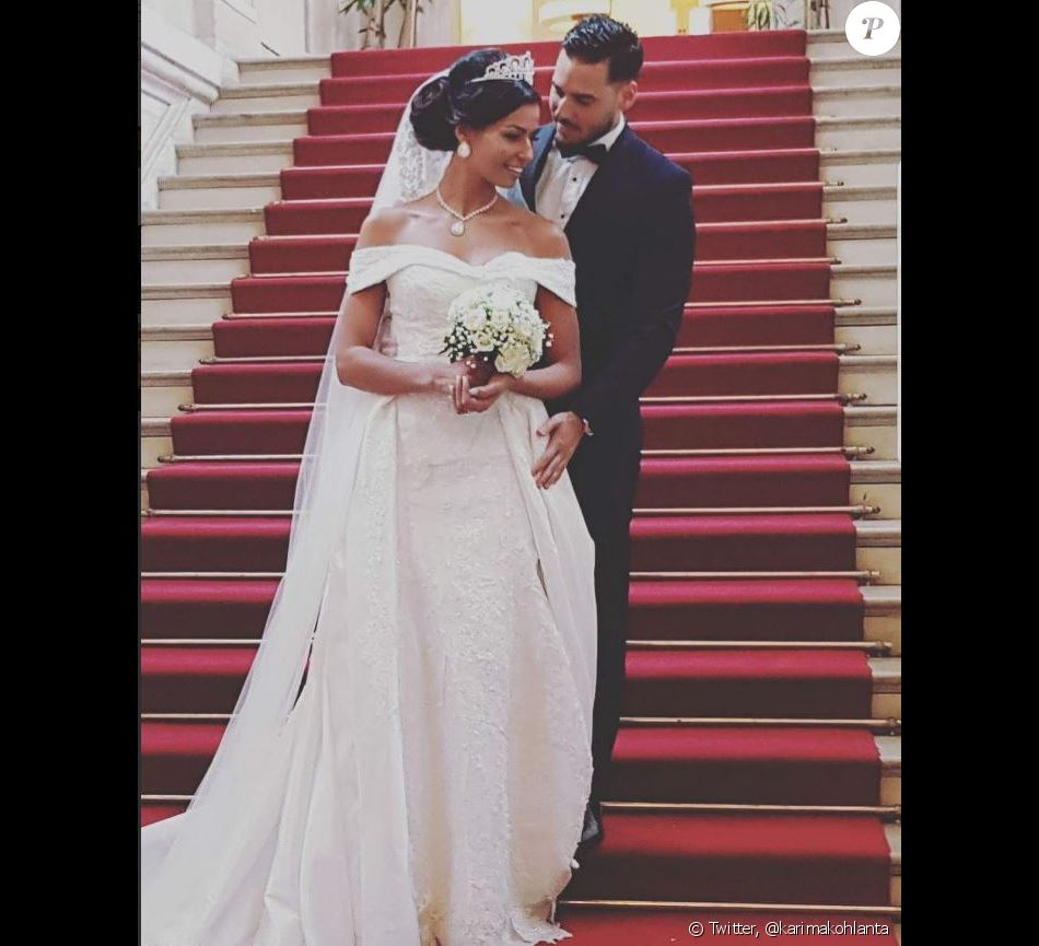"Karima de ""Koh-Lanta"" s'est mariée, 21 janvier 2018, Twitter"