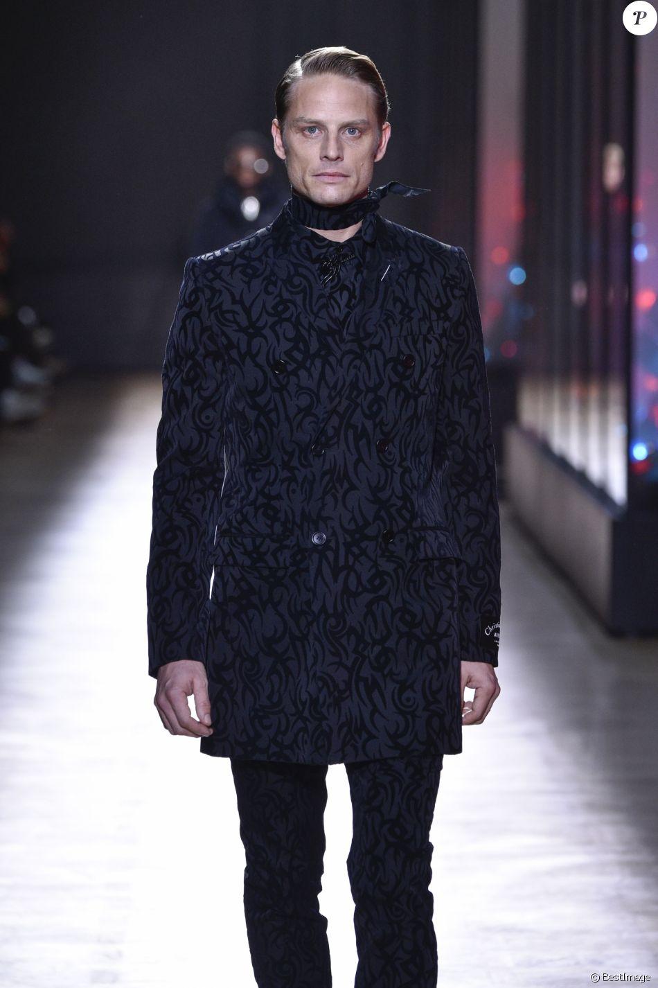 Arnaud Lemaire - Défilé de mode Dior Homme collection Automne/Hiver 2018/2019 à Paris, le 20 janvier 2018.