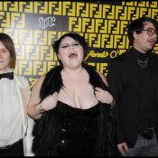Beth Ditto, 1m55, 80 kg est... une véritable icône de mode ! On adore !