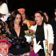 Pauline Ducruet et la princesse Stéphanie de Monaco lors de la soirée de remise des prix du 42ème Festival International du Cirque de Monte Carlo le 23 janvier 2018. © Bruno Bebert/Bestimage