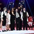 Pauline Ducruet remet un Clown de Bronze à la Troupe Vavilov lors de la soirée de remise des prix du 42ème Festival International du Cirque de Monte Carlo le 23 janvier 2018. © Bruno Bebert/Bestimage
