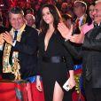 Pauline Ducruet, en robe jambe fendue, lors de la soirée de remise des prix du 42ème Festival International du Cirque de Monte Carlo le 23 janvier 2018. © Bruno Bebert/Bestimage