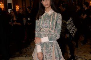 Fashion Week : La fille de Vincent Pérez, Iman, radieuse avec Dani Alves