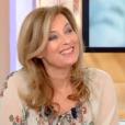Valérie Trierweiler sur le plateau de l'émission C à vous diffusée le 19 janvier 2018