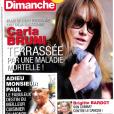 France Dimanche, janvier 2018.