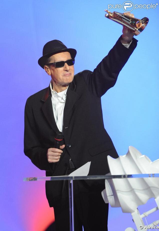 Alain Bashung aux Victoires de la Musique avec trois récompenses le 28 février